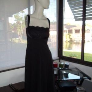 WHBM Black Class Cocktail Dress Size 2